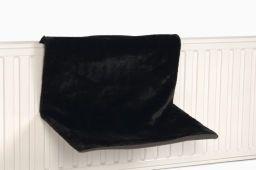 Radiator mat zwart verven
